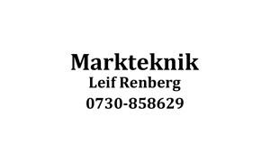 Markteknik - Leif Renberg